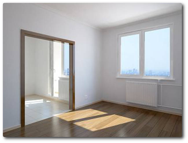 Начисто отделанная квартира в Подольске