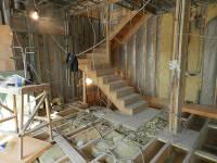 Новая лестница на второй этаж
