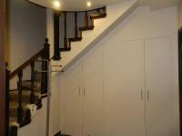Лестница после чистовой отделки