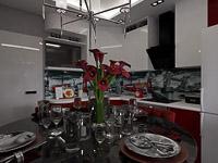 Визуализация дизайна, Подольск, ул. Колхозная (дизайнер - Екатерина Колосова)