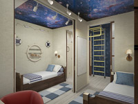 Спальня с другого ракурса