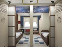 Отремонтированная гостиная